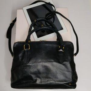 Elliott Lucca Leather Crossbody iPad Purse Bag